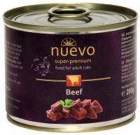 Корм для кошек Nuevo Adult Beef / 95110 (200г) -