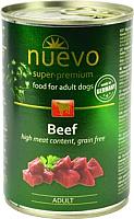 Корм для собак Nuevo Beef / 95004 (400г) -