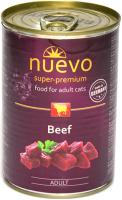 Корм для кошек Nuevo Adult Beef / 95111 (400г) -