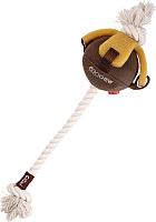 Игрушка для животных Gigwi Мяч на веревке 75458 -