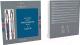 Письменный набор имиджевый Parker Jot Wtrloo Blue CT + SS CT + блокнот / 2062782 -
