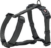 Шлея Trixie Premium H-harness 203216 (XS/S, графит) -
