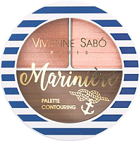 Палетка для скульптурирования Vivienne Sabo Mariniere 01 теплый (6г) -