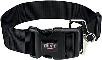 Ошейник Trixie Premium Collar 1999401 (L/XXL, черный) -