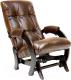 Кресло-глайдер Импэкс 68 (венге/Antik Crocodile) -