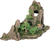 Декорация для аквариума Trixie Горный хребет с пещерой 8854 -