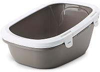 Туалет-домик Savic Simba 205400WW (белый/теплый серый) -