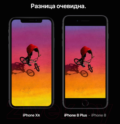 Смартфон Apple iPhone XR 64GB / MH6M3 (черный)