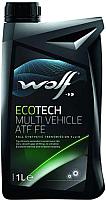 Трансмиссионное масло WOLF EcoTech Multi Vehicle ATF FE / 3014/1  (1л) -