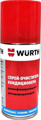 Очиститель системы кондиционирования Wurth Дезодорирующий и дезинфицирующий / 089376455