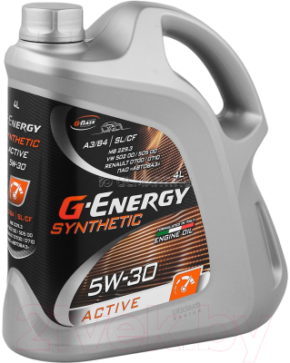 Моторное масло G-Energy Synthetic Active 5W30 / 253142406 (5л)