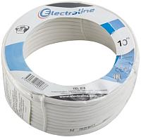 Кабель Electraline 14003 (10м, белый) -