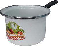 Ковш Сантэкс Овощи 1-4410400 (белый) -