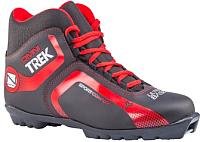 Ботинки для беговых лыж TREK Omni2 N (черный/красный, р-р 38) -