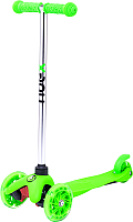Самокат Ridex Zippy 3D 120/80мм (зеленый) -