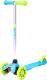Самокат Ridex Zippy 3D 120/80мм (синий) -