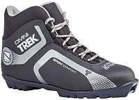 Ботинки для беговых лыж TREK Omni 4 S (черный/серый, р-р 35) -