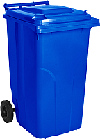 Контейнер для мусора Алеана 122068 (240л, синий) -