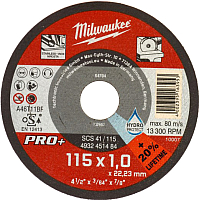 Набор отрезных дисков Milwaukee 4932451488 -