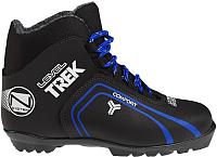 Ботинки для беговых лыж TREK Level 3 N (черный/синий, р-р 46) -