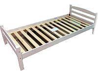 Каркас кровати ММЦ Гольф-90 (белый воск) -