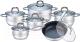 Набор кухонной посуды KING Hoff KH-1098 -