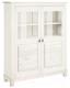 Шкаф с витриной ММЦ Рауна 20 (белый воск) -
