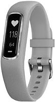Фитнес-трекер Garmin Vivosmart 4 / 010-01995-22 (S/M, серебристый/серый) -