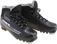 Ботинки для беговых лыж TREK Sportiks NNN (черный/серый, р-р 46) -