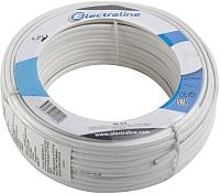 Кабель Electraline 14008 (50м, белый) -