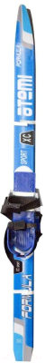 Лыжи беговые с креплениями Atemi Formula Step 90 (синий)