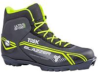 Ботинки для беговых лыж TREK Blazzer 1 N (черный/лайм, р-р 43) -