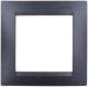 Рамка для выключателя Simon 1500610-038 (графит) -