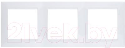 Рамка для выключателя Simon 1500630-030 рамка simon 15 1500630 038 трехместная универсальная графит