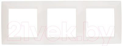 Рамка для выключателя Simon 1500630-031 рамка simon 15 1500630 038 трехместная универсальная графит