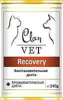 Корм для кошек Clan Vet Recovery Восстановительная диета (340г) -