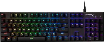 Клавиатура HyperX Alloy FPS RGB Kailh Silver Speed / HX-KB1SS2-RU