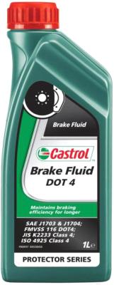 Тормозная жидкость Castrol Brake Fluid DOT 4 / 157D5A тормозная жидкость bosch dot 4 brake fluid 1 л