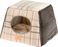 Домик для животных Ferplast Edinburgh / 83655002 (коричневый) -