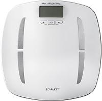 Напольные весы электронные Scarlett SC-BS33ED80 (белый) -