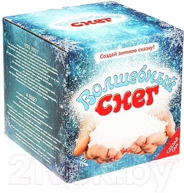 Набор для опытов Волшебный снег Подарочный набор / ms-12 набор chocolatte подарочный 12 виноград