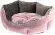 Лежанка для животных Ferplast Queen 60 / 83406001 (розовый/серый) -