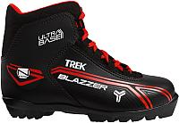 Ботинки для беговых лыж TREK Blazzer 2 N (черный/красный, р-р 44) -