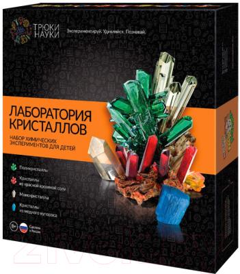 Набор для выращивания кристаллов Трюки науки Лаборатория кристаллов / Z009