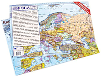 Пазл АГТ Геоцентр Карта Европы / GT0720 -