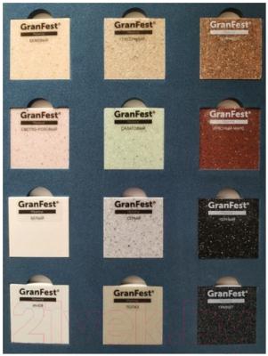 Мойка кухонная GranFest Practik GF-P505 (иней)