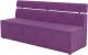 Скамья кухонная мягкая Mebelico Классик 52 (микровельвет, фиолетовый) -