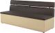 Скамья кухонная мягкая Mebelico Классик 52 / 59153 (экокожа, коричневый/бежевый) -