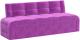 Скамья кухонная мягкая Mebelico Люксор 38 / 58928 (микровельвет, фиолетовый) -