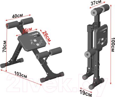 Скамья для пресса Leco IT Pro / гп040011